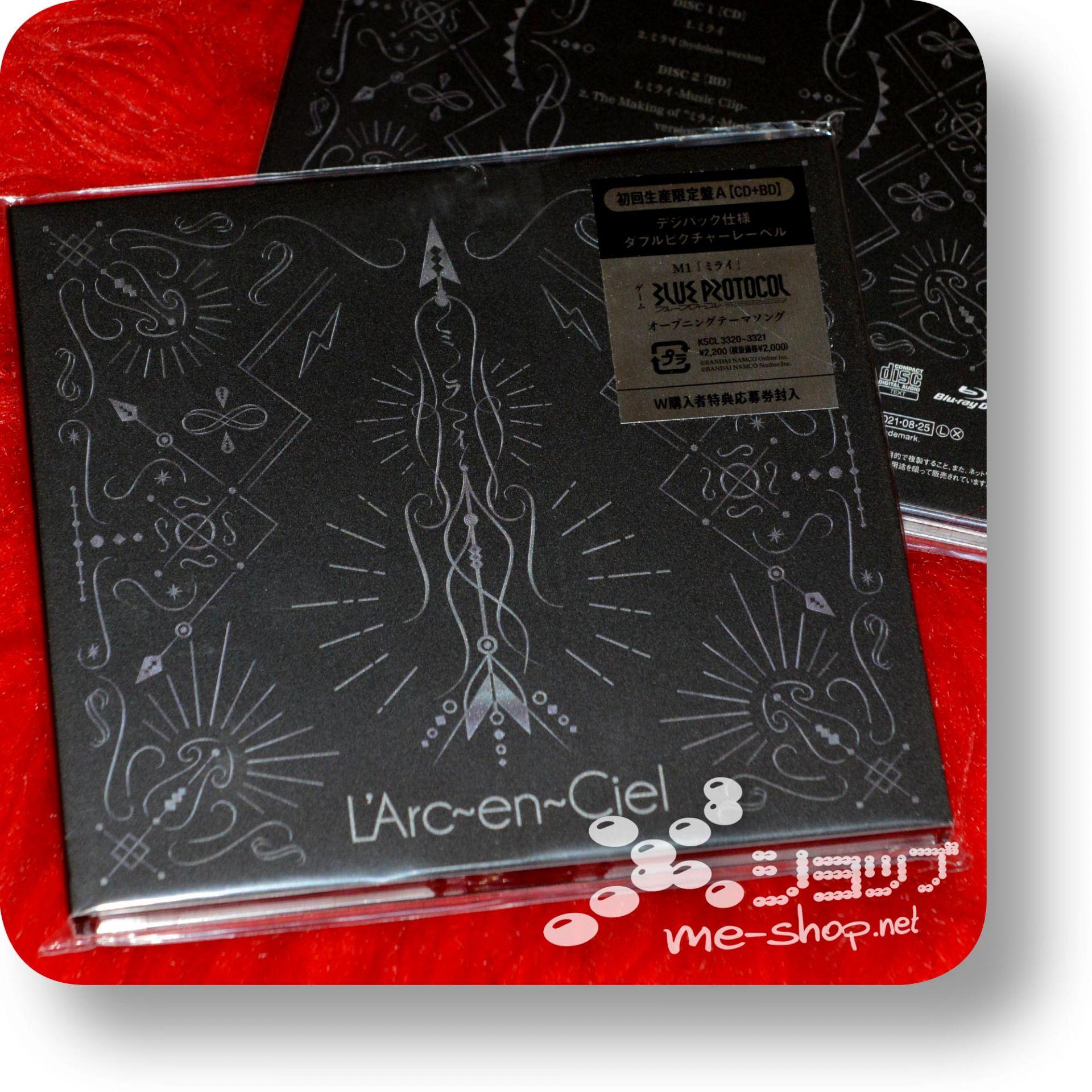 larc en ciel mirai cd+bd