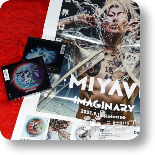 miyavi imaginary a+poster