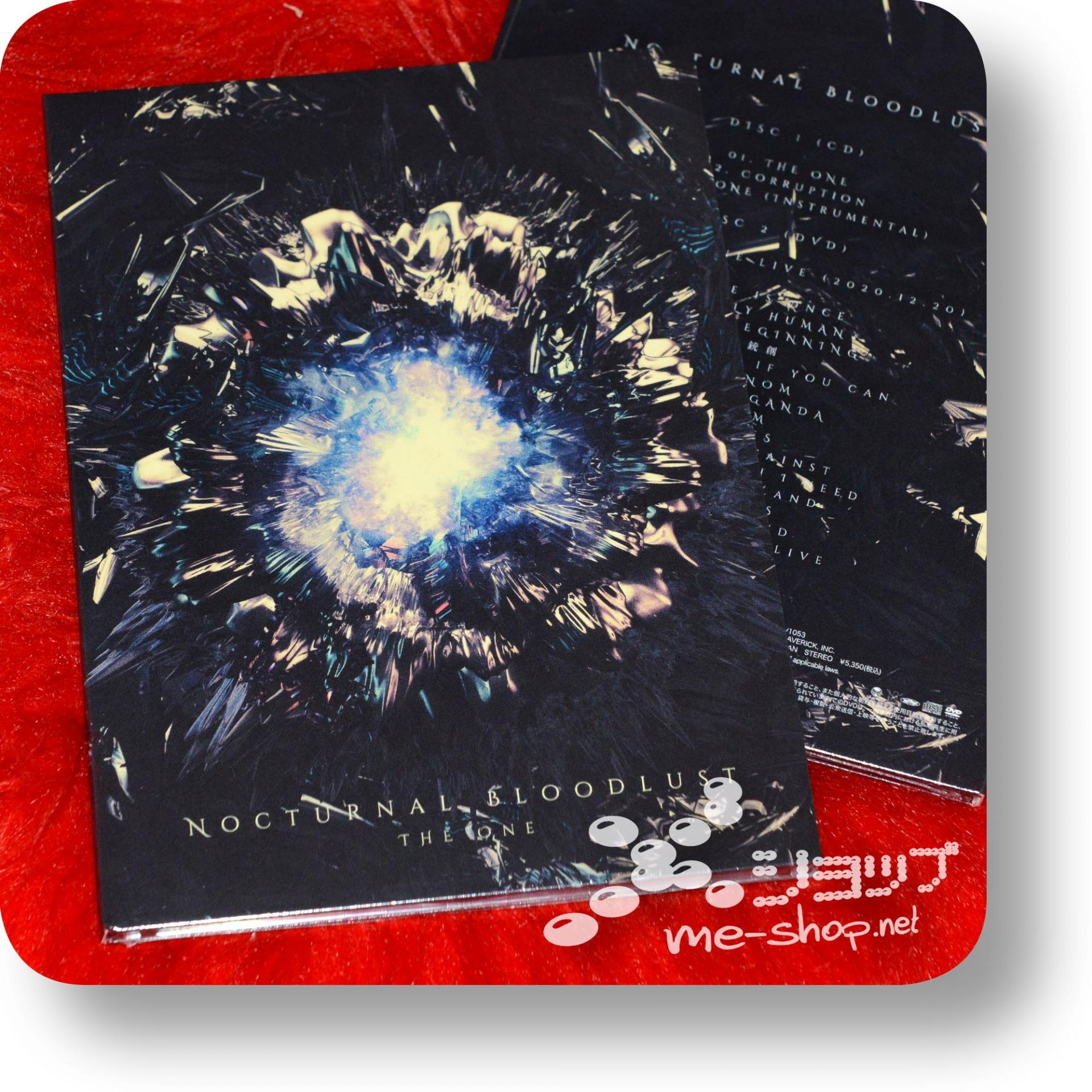 nocturnal bloodlust the one cd+dvd