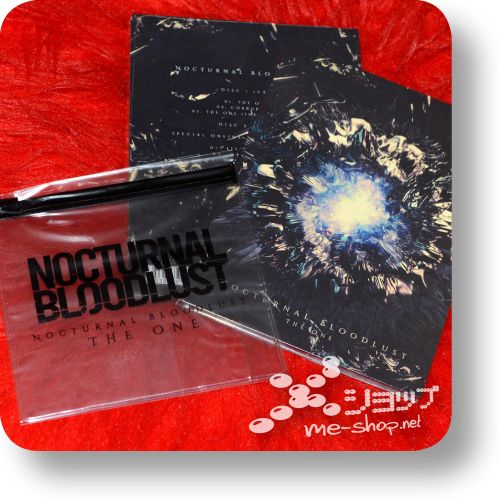 nocturnal bloodlust the one cd+dvd+bonus